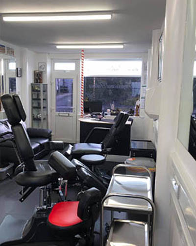 WH Ink Studio Durrington Wiltshire studio interior